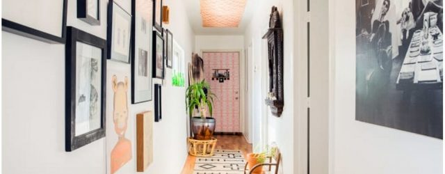 Sprucing Up Your Hallway - Round up some rugs